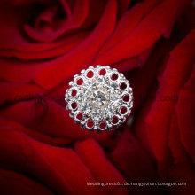 Hochzeits-Blumen-Rhinestones-Kristallblumenstrauß-Schmucksachen