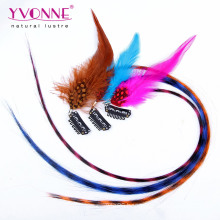 Feather Hair Extension, Synthetic Clip in Hair Extension