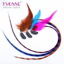 Расширения перо волос синтетические клип в наращивание волос