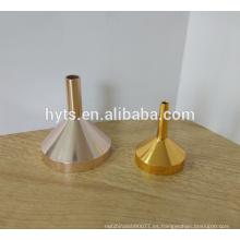 Embudo líquido de aluminio de relleno de perfume de 35 mm