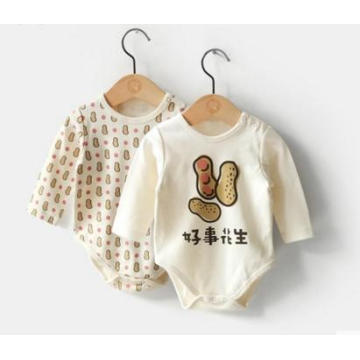 2016 New Design Fashion Girl Bodysuit Made From China with Gots Certification