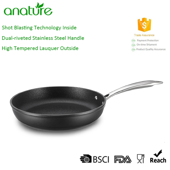 Full Induction Bottom Forged Aluminum Non Stick Frying Pan