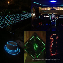 Beautiful El Wire Set, Multi-Color Neon Lamp with Battery Pack Neon Glowing Strobing Electroluminescent Wire light