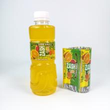 Custom Heat Shrink Wrap Sleeve Label For Plastic Bottles