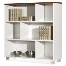 Cabinet de dépôt blanc bon marché (FOH-8B-09A)