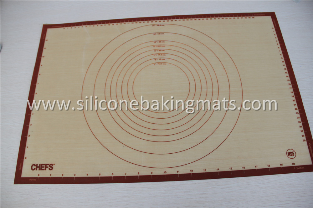 Silicone Pastry Mat With Measures
