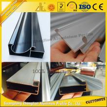 Perfil de alumínio anodizado OEM da cozinha com processamento profundo do CNC