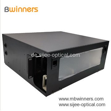 144 ODF-Anschlussbox (Fibers Rack Mount Optical Distribution Fiber)