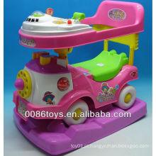 Crianças, car, passeio, ligado