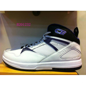 White Basketball Shoes (B201232)