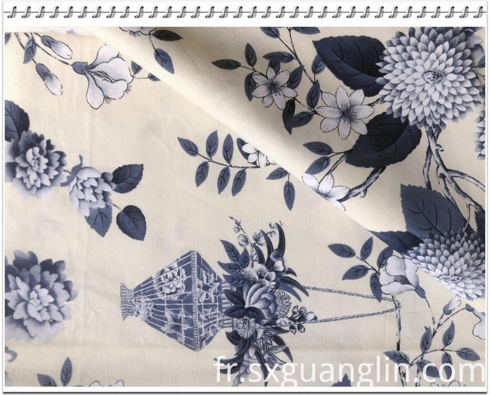 cotton canvas print fabric