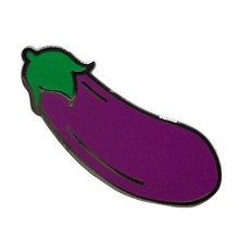 Fun Trendy Perzik Aubergine Splash Enamel Pin Set