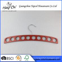 Luxury 10 Hooks Solid Wooden Hanger for Tie,Scarf,Belt