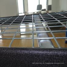 Estante de almacenamiento industrial resistente del estante / Warehouse del certificado del ISO con el decking del alambre