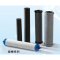PP compound carbon block water filter