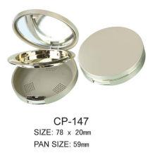 Empty Round Cosmetic Powder Case