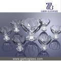 7 PCS Ice Cream Bowl Set Glassware