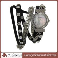 Diamond Fashion Waterproof High Quality Round Alloy Watches