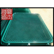 powder coated welded wire mesh fence panel (manufacturer price)