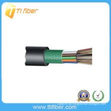 96 GYTS de la base Cable trenzado flojo Cable de fibra óptica al aire libre
