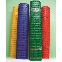 Пластмассовая временная защитная сетка
