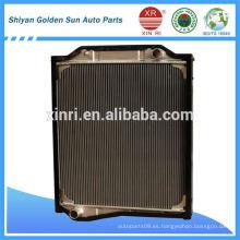 Radiador completo de aluminio H1130020005A0 para camiones pesados Foton Auman