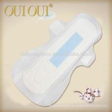 OEM marca ultra fino cottony diferentes tipos de absorventes higiênicos