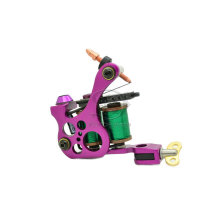Высокое качество Purple шейдеров Пэдди металлические тату машины