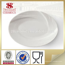 Vaisselle de décoration servant le plat de mélamine de plat