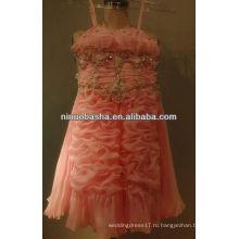 СЗ-343 2013 милая органзы с beadings платье девушки цветка