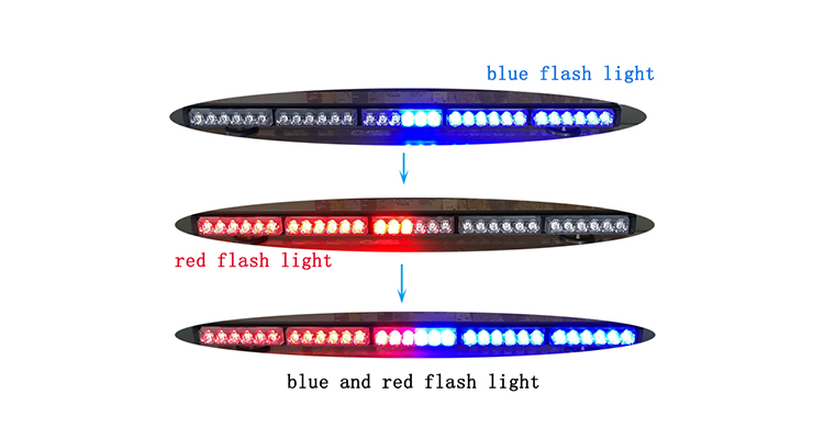 rechargeable led light bar truck