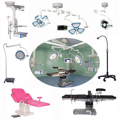 Operating lamp and operating bed