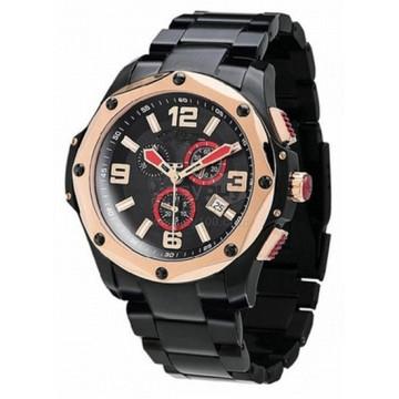 Alta qualidade do relógio do esporte dos homens relógio de aço inoxidável do esporte (hl-cd059)