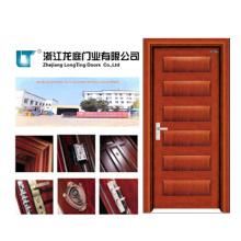 Porte intérieure en bois de placage intérieur porte (LTS-301)