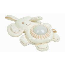 Factory Supply Organic Stuffed Baby Evening Lignt Toy