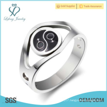 Silver lesbian couple jewelry,lesbian pride promise ring