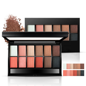 Μακιγιάζ Eyeshadow Shimmer Matte 12 Color Eyeshadow Palette