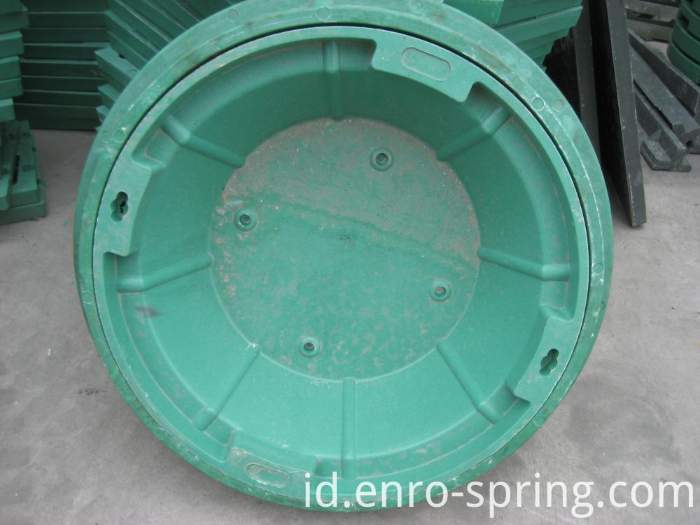 FRP Circle Lawn Manhole Cover