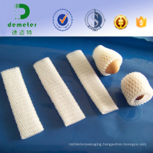 China Factory Direct Sale Cheap Disposable Polythene Expandable Mesh Sleeving for Apple, Peach Packaging