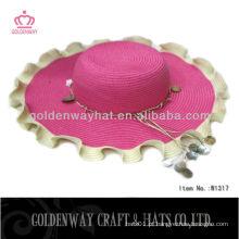 Chapéus de senhoras personalizados para casamentos 2013