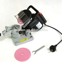 Hot Sales Economy GS CE EMC ROHS 100mm 220W Plastic Base Chain Saw Sharpeners Grinder