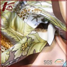 Цифровой печати Ткань шелковая саржа