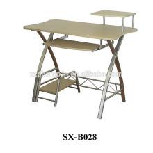 Mesa de madeira para mesa de metal para casa