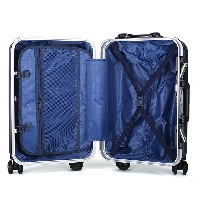 Diamond shape customized design ABS luggage12
