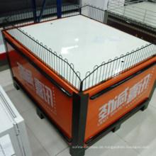 Ausstellungsstand-faltende Supermarkt-Verkaufsförderungs-Stand-Tabelle