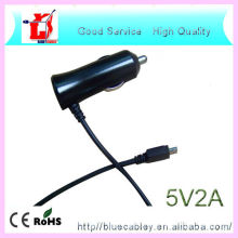 Nuevo cable de datos de diseño usb cargador de coche para celular