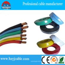 O melhor fio revestido do PVC da qualidade feito em China