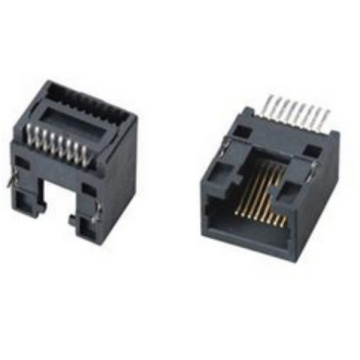 RJ45 SIDE ENTRY SMT PCB-aansluiting