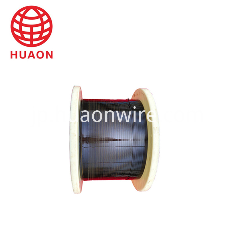 Enameled aluminium wire for motor