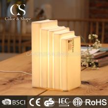 Lámpara de mesa suave del libro de la luz para la iluminación diaria del hogar